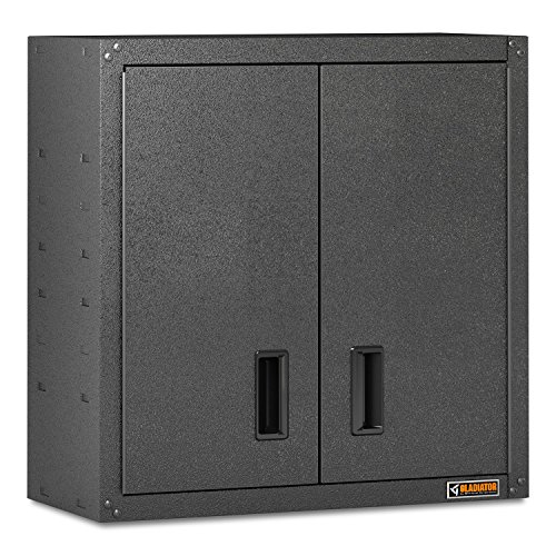 Gladiator 28'' Full-Door Steel Wall Mount Cabinet with Magnetic Closure by Gladiator
