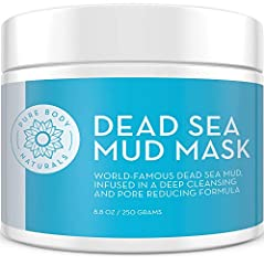 For centuries people have relied on the mineral-rich mud of the Dead Sea for health and wellness benefits. It's unique high concentration of salts and minerals cleanses, detoxifies and stimulates skin. Our all-natural Dead Sea Mud Mask formul...
