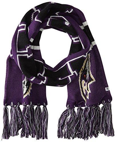 NFL Baltimore Ravens '47 Brand Breakaway Scarf with Tassels, Purple, One Size Purple Premier Football Jersey