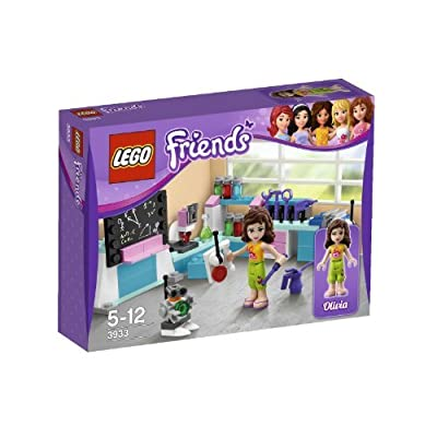 LEGO Friends Olivia's Inventor's Workshop 3933: Toys & Games