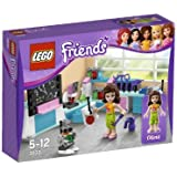 LEGO Friends - 3933 - Jeu de Construction - L'Atelier Scientifique d'Olivia