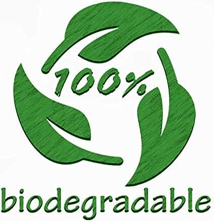 Pajita de papel biodegradable negra (20,3 cm) Maxi caja de 250 ...