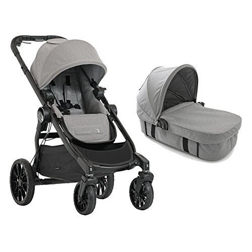 Baby Jogger 2017 City Select LUX Stroller WITH LUX Bassinet (Slate)