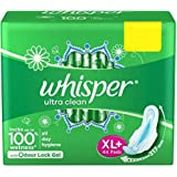 Whisper Ultra Plus Sanitary Pads XL Plus (44 Count)