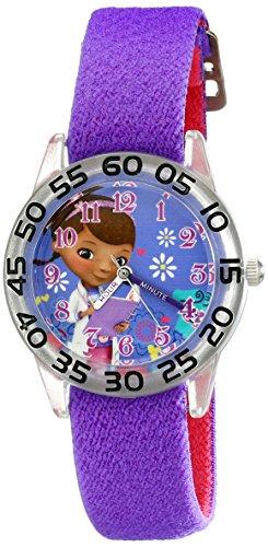 Disney Kids' W001955 Doc McStuffins Analog Display Analog Quartz Purple Watch