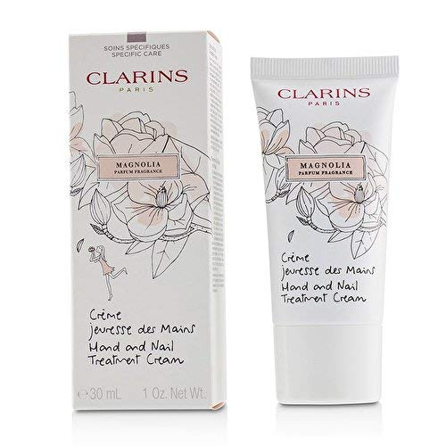 Clarins Hand and Nail Treatment Cream, Magnolia, 1 Ounce from Clarins