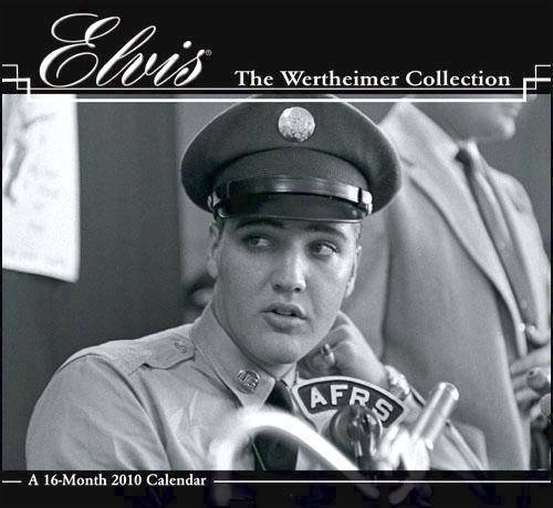 Elvis Wertheimer 2010 Wall - Calendar 2010 Elvis