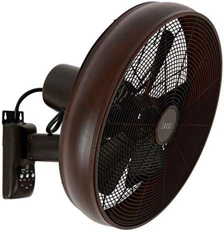 LUCCI AIR Breeze Ventilador de pared con mando a distancia, Oil ...