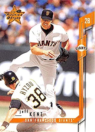 79450d7e534 Amazon.com  2001 Leaf Rookies   Stars  93 Jeff Kent NM-MT Giants ...
