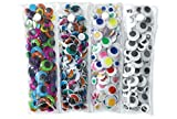 Colorations 500EYES Easy Storage Wiggly Eye Pack (Pack of 500)