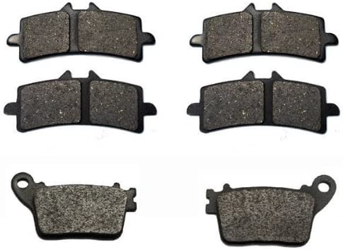 Volar Front /& Rear Brake Pads for 2011-2018 Suzuki GSXR 600