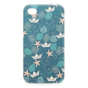 Sea Life iPhone 4s 3D wrap around Case - Design 1