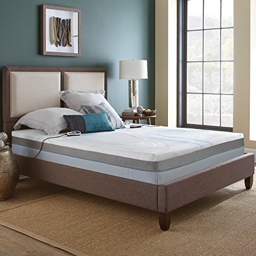 Night Air Mattress, 2-Chamber Adjustable Bed Allows You to Customize Each Side of the Bed to Your Preferred Comfort and Support (Supreme 2250 Queen) | Compare to Sleep Number c4 | Base Sold Separately - Boyd Night Air