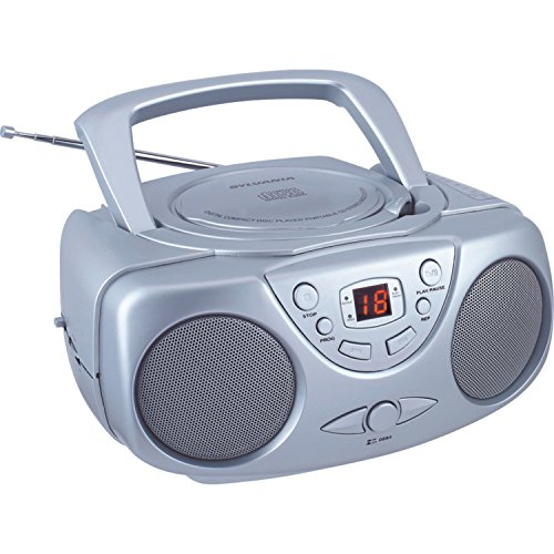 Sylvania SRCD243 Portable CD Player with AM/FM Radio