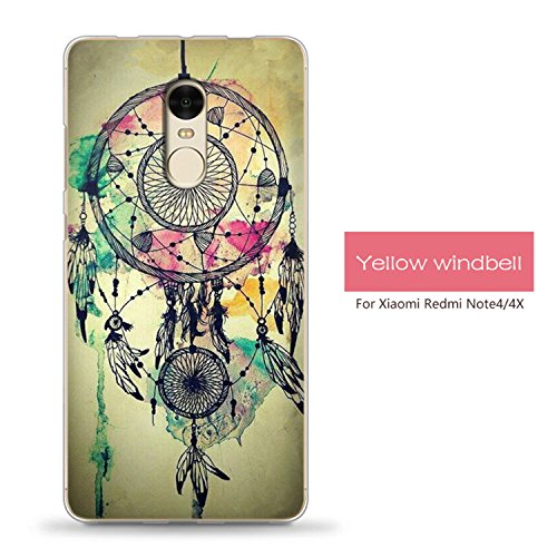 Hotom Store Case For Xiaomi Redmi Note 4 4X Pro Case Cute Cartoon Silicone Soft Back Cover Case 20 For Redmi Note 4X