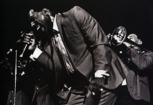 (Otis Redding Poster, Live in Concert, Soul, Rhythm and Blues)