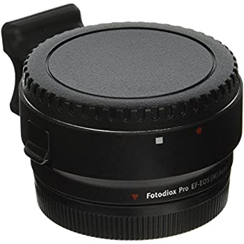 Fotodiox Pro Lens Mount Auto Adapter - Canon EOS (EF / EF-S) D/SLR Lens to Canon EOS M (EF-M Mount) Mirrorless Camera Body - with Full Automated Functions