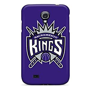 Awesome Sacramento Kings Flip Case With Fashion Design For Galaxy S4