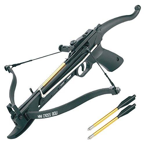 Hunting Pistol 80lbs Self Cocking Fiberglass Crossbow - Fiberglass Crossbow