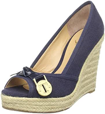 Ivanka Trump Women's Larima Espadrille,Dark Blue Fabric,4.5 M US