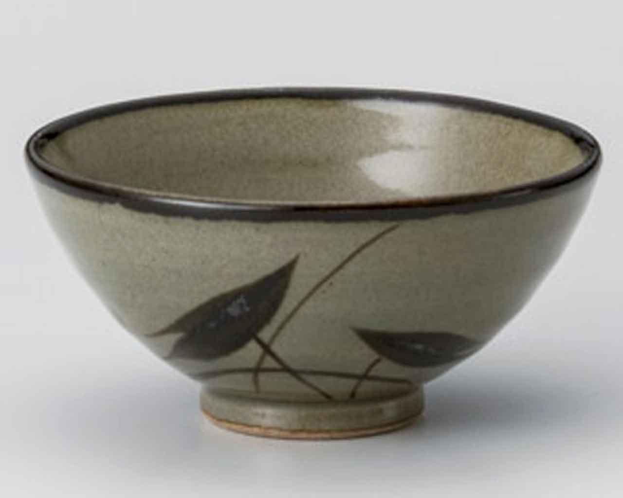Mashiko Mizukusa 4.6inch Set of 10 Rice bowls Ceramic Made in Japan