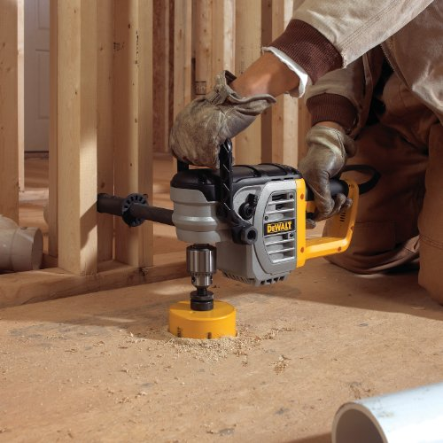 DEWALT DWD460 11 Amp 1/2-Inch Right Angle Stud and Joist Drill with Bind-Up Control