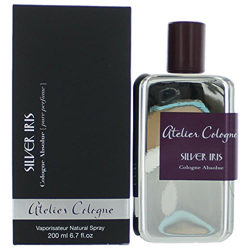 Atelier Cologne Silver Iris Absolute Spray for Unisex, 6.7 Ounce
