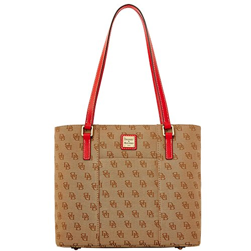 Dooney & Bourke Madison Signature Small Lexington,Red