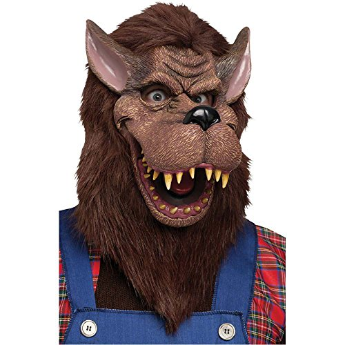 Big Bad Wolf Costume Mask (Big Bad Wolf Costume Mask)
