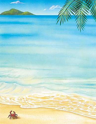 "Great Papers! Tropical Letterhead, 80 Count, 8.5""x11"" (2014233)"