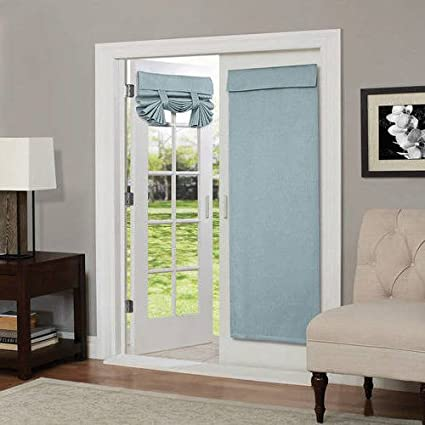 Amazon Na 1 Piece 68 Inch Spa Solid Color Blackout French Door