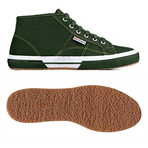 Superga 2754-plusnylu - Zapatillas de deporte Unisex adulto FOREST