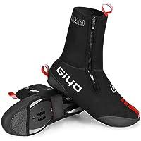 Volwco Couvre-Chaussures de vélo résistant au Froid et imperméable pour VTT et Route avec Motif réfléchissant