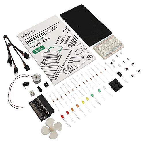 Kitronik Uitvinders Kit voor BBC micro:bit met 10 Experimenten