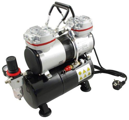 Compresor AS-196 con cilindro doble compresor sin aceite