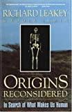 img - for Origins Reconsidered: In Search of What Makes Us Human book / textbook / text book