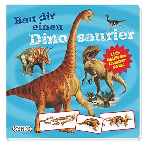 Bau dir einen Dinosaurier: 4 tolle Modelle zum Zusammenstecken