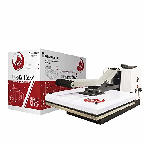 This Volcano heat press from US Cutter will blow your mind