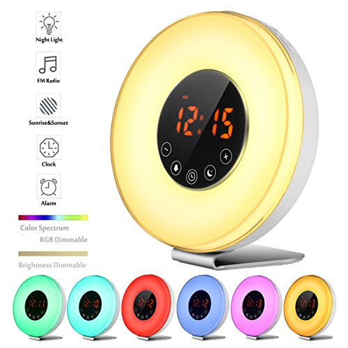 Blingco Wake Up Light Alarm Clock Blingco Sunrise