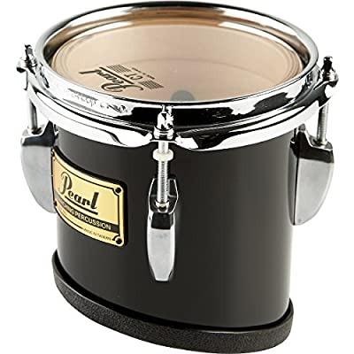 Pearl Championship Marching Tom with R Ring #46 Midnight Black 6x8 from Pearl