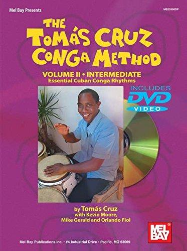 Mel Bay The Tomás Cruz Conga Method, Vol. (2 Conga)