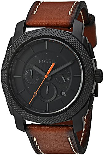 fossil-mens-fs5234-machine-chronograph-luggage-leather-watch
