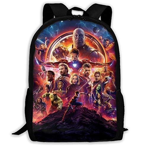 Avengers Endgame Art Casual Backpack Daypack School Bag Book Bag