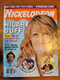 Nickelodeon Magazine November 2003, Hilary Duff cover, Elf, Looney Tunes: Back In Action, The Cat In The Hat
