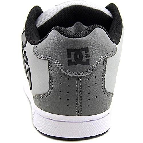 DC Net M - Zapatillas de deporte de cuero nobuck para hombre Grey/Grey/Grey