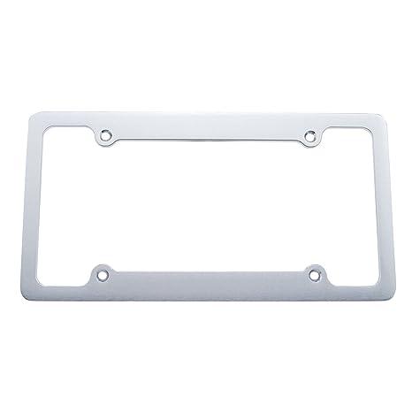 Amazon.com: United Pacific 50053 Billet License Plate Frame: Automotive