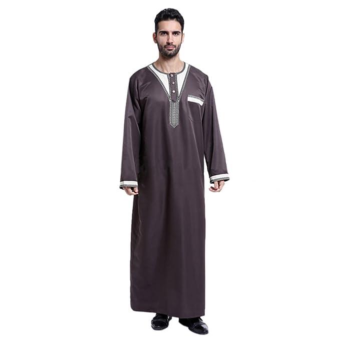 Meijunter Men Arabian Muslim Dress Costumes Garment Thobe Robe Dishdasha#802 Amazon.ca Clothing u0026 Accessories  sc 1 st  Amazon.ca & Meijunter Men Arabian Muslim Dress Costumes Garment Thobe Robe ...