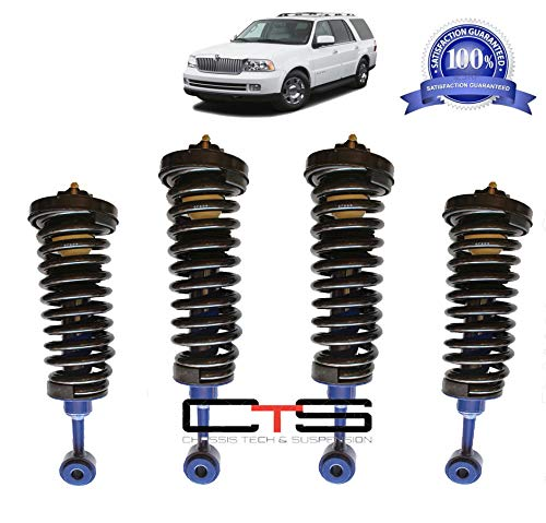 Chassis Tech Lincoln Navigator Air Bag to Coil Spring Struts Suspension Conversion kit 03-06 ()