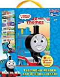 thomas the train electronic - Thomas Me Reader Electronic Reader and 8-Book Library 4 inch
