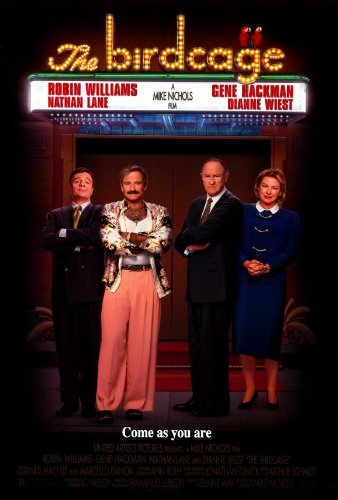 Image result for the birdcage movie poster